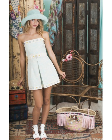 Vestido Palabra de Honor Summer of Love